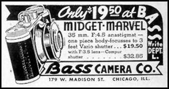 BASS MIDGET MARVEL CAMERA LIFE 08/09/1937 p. 92