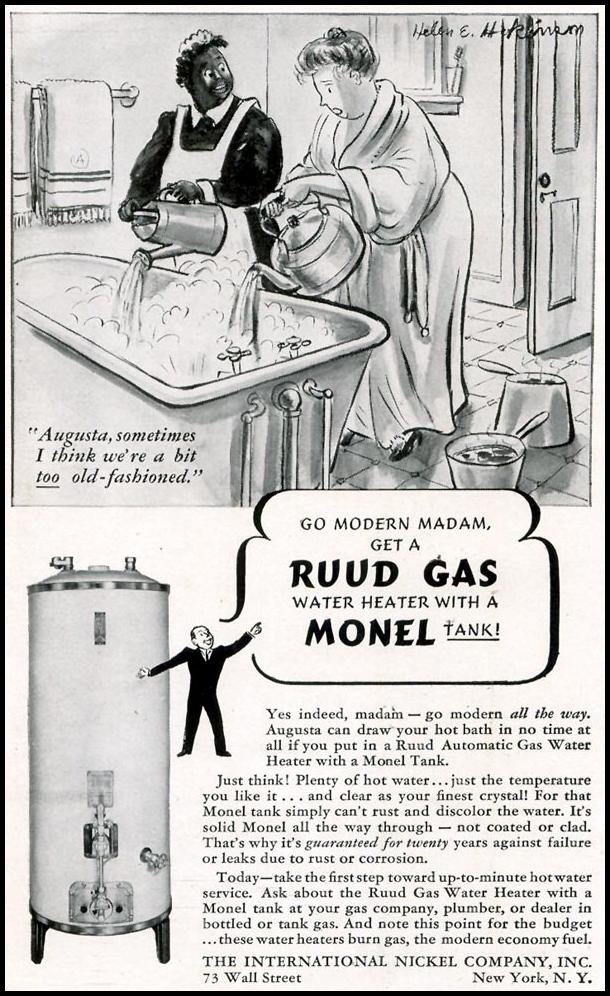 RUUD GAS WATER HEATER LIFE 09/30/1940 p. 90