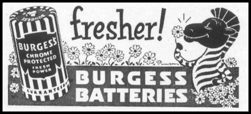 BURGESS BATTERIES LIFE 01/21/1952 p. 98