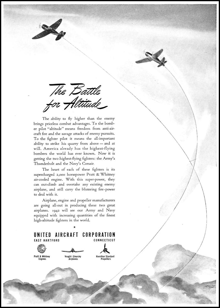 CORSAIR FIGHTER AIRCRAFT TIME 02/16/1942 p. 33