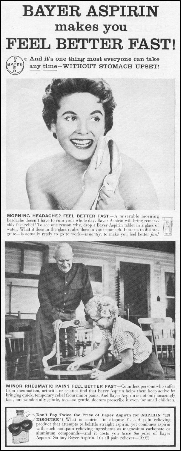 BAYER ASPIRIN LIFE 04/08/1957 p. 109