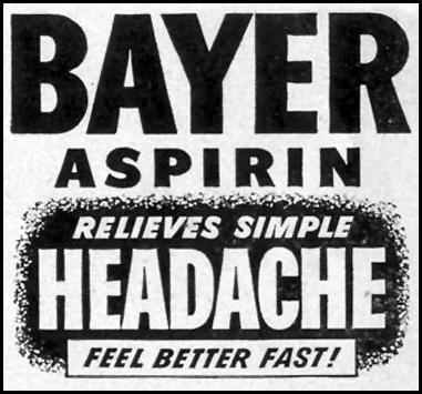 BAYER ASPIRIN LIFE 07/30/1951 p. 76