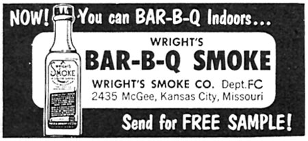 WRIGHT'S BAR-B-Q SMOKE FAMILY CIRCLE 02/01/1958 p. 6