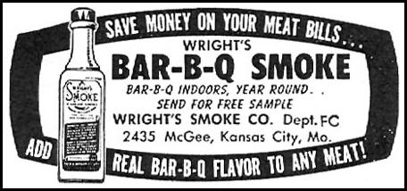 WRIGHT'S BAR-B-Q SMOKE FAMILY CIRCLE 11/01/1957 p. 68