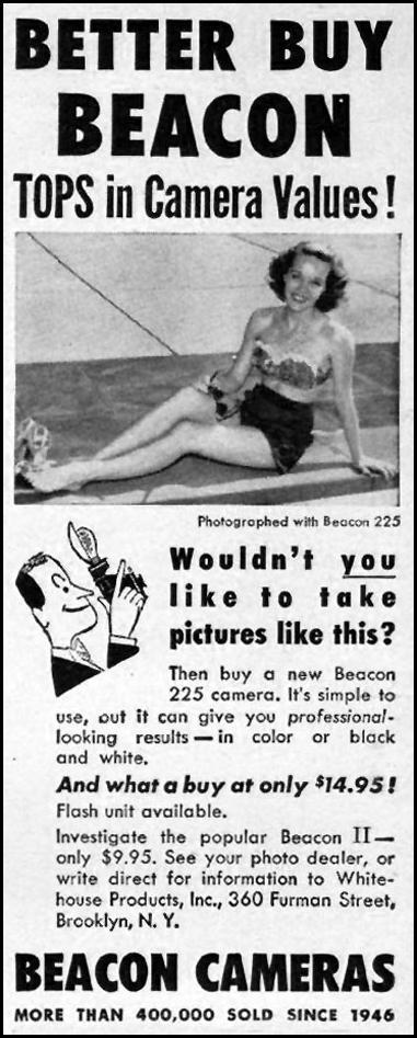BEACON CAMERAS LIFE 07/02/1951 p. 66