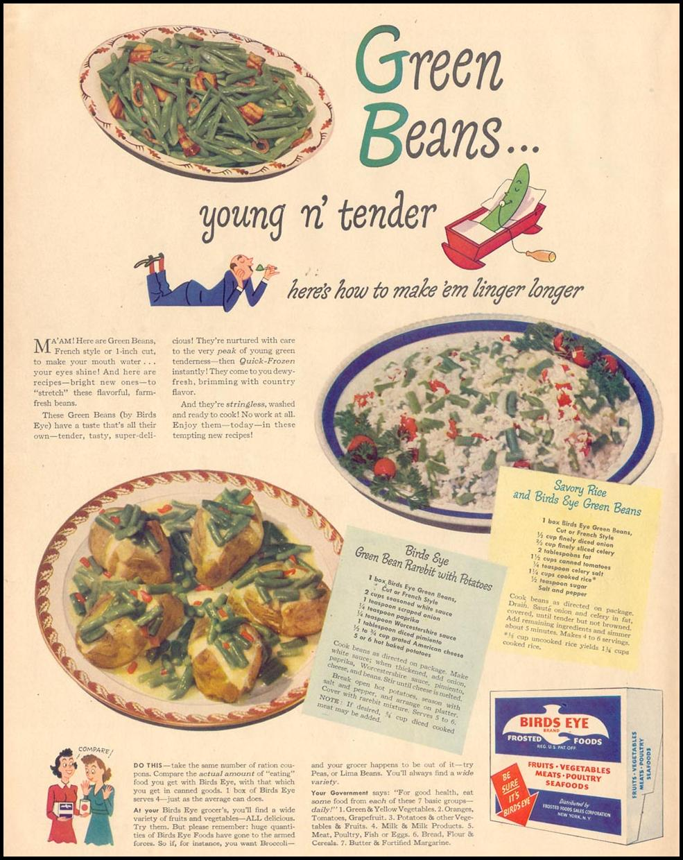 BIRDS EYE FROSTED FOODS LIFE 11/08/1943