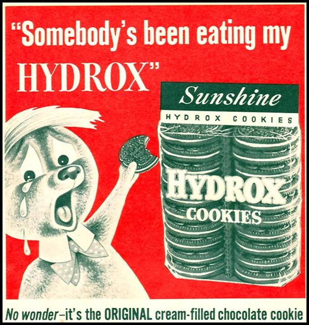 HYDROX COOKIES FAMILY CIRCLE 02/01/1956 p. 48