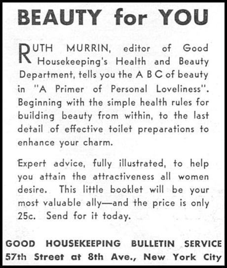 A PRIMER OF PERSONAL LOVELINESS GOOD HOUSEKEEPING 01/01/1932 p. 164