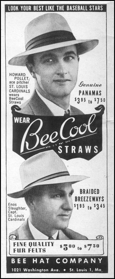 MEN'S HATS LIFE 06/05/1950 p. 10