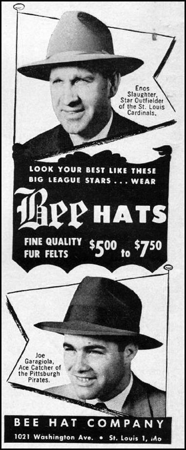 BEE HATS LIFE 09/03/1951 p. 38