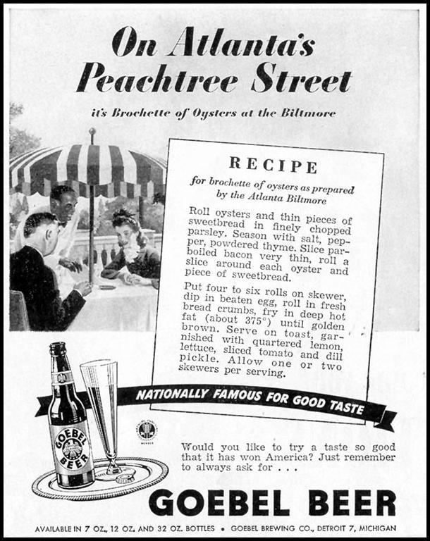 GOEBEL BEER LIFE 02/21/1944 p. 100
