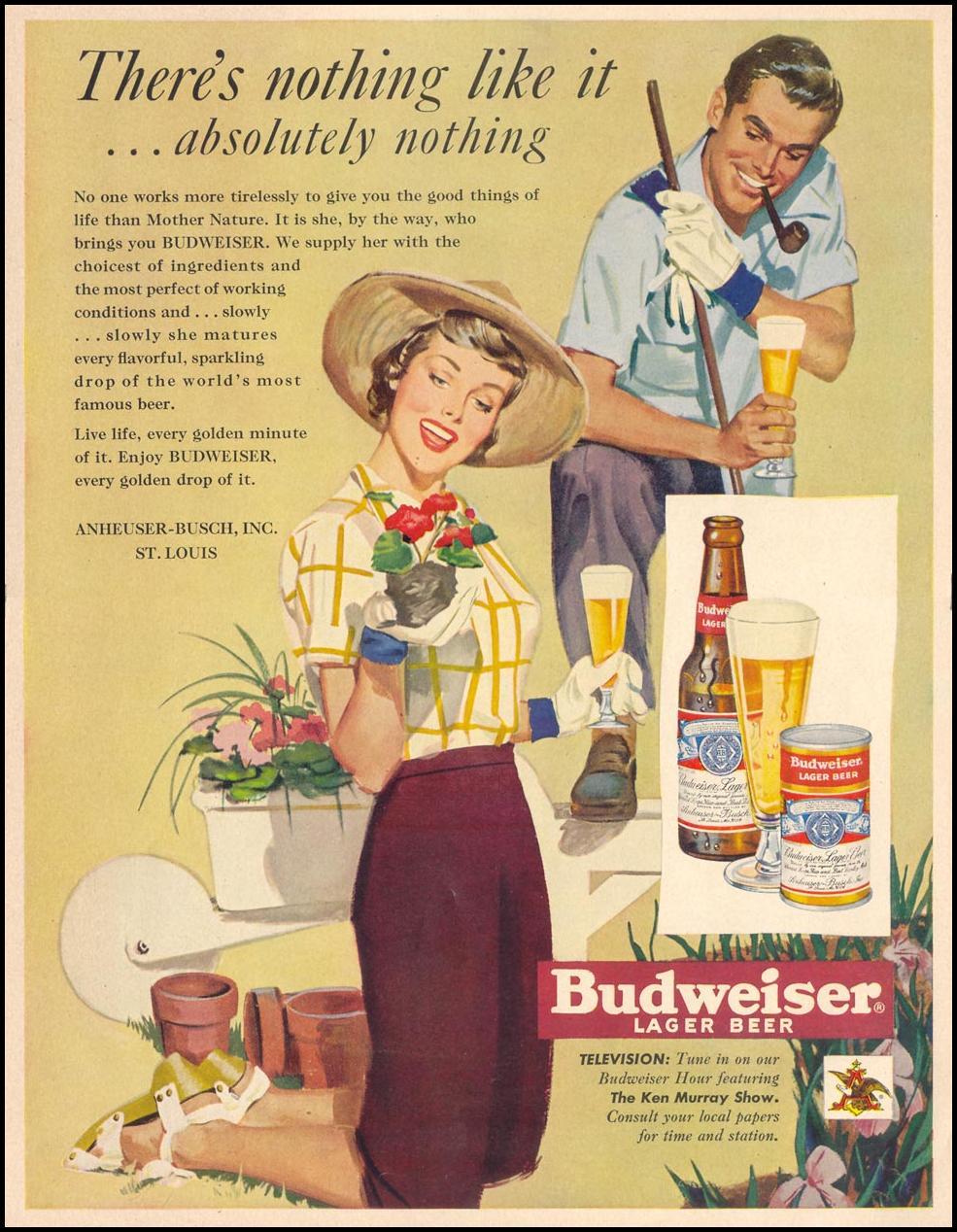 BUDWEISER BEER LIFE 04/17/1950 p. 173