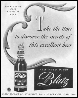 BLATZ BEER LIFE 11/02/1942 p. 16