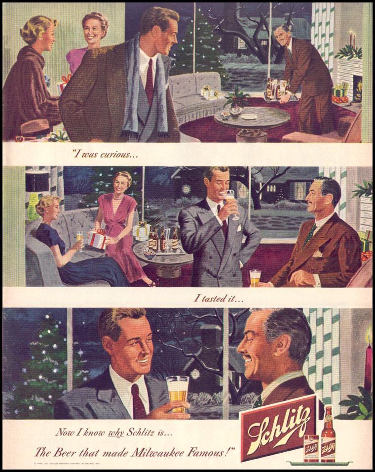 SCHLITZ BEER LIFE 12/27/1948 p. 79