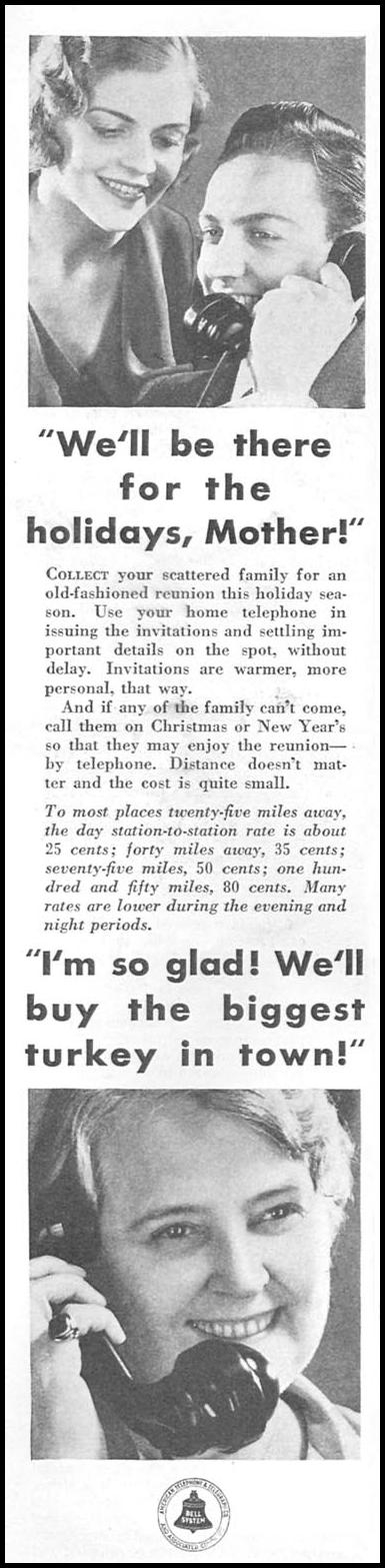 TELEPHONE SERVICE GOOD HOUSEKEEPING 01/01/1932 p. 126