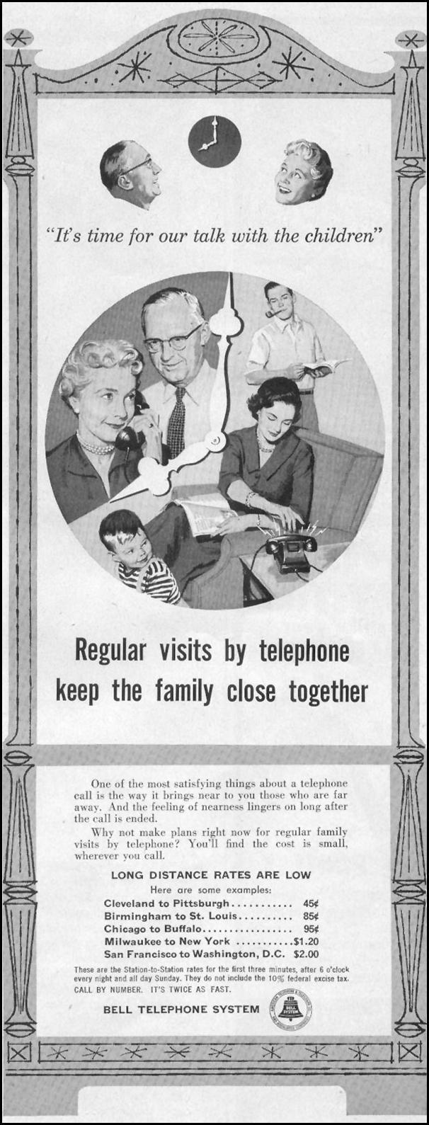 TELEPHONE SERVICE LIFE 11/14/1955 p. 197