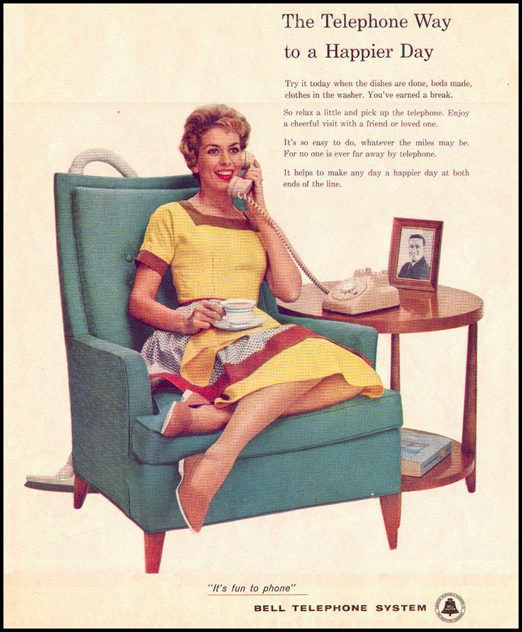 TELEPHONE SERVICE LOOK 09/16/1958