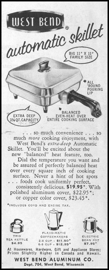 AUTOMATIC SKILLET LIFE 04/08/1957 p. 150
