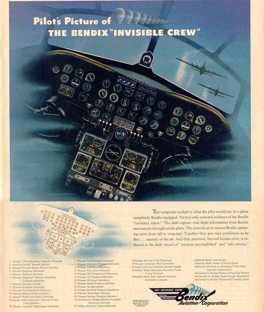 THE BENDIX INVISIBLE CREW LIFE 02/14/1944 p. 17