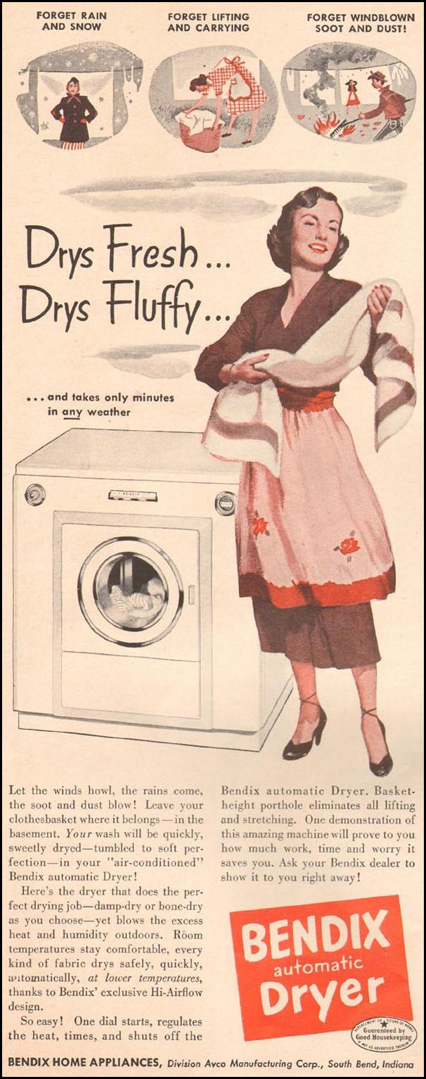 BENDIX AUTOMATIC DRYER LIFE 10/01/1951 p. 2