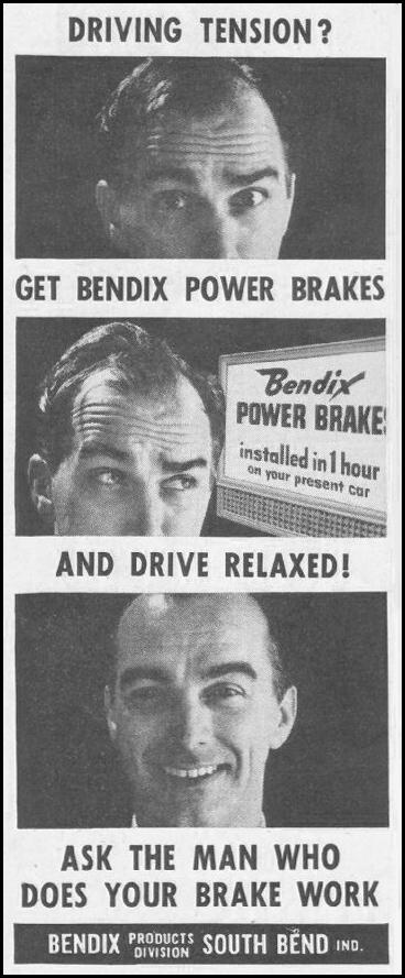 BENDIX POWER BRAKES SATURDAY EVENING POST 06/11/1960 p. 88