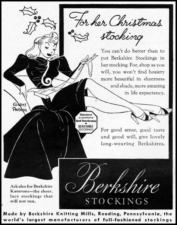 BERKSHIRE STOCKINGS LIFE 12/16/1940 p. 104