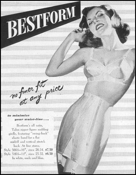 BESTFORM FIGURE MOLDING GIRDLE LIFE 10/11/1948 p. 108