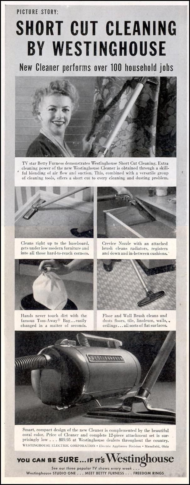 WESTINGHOUSE VACUUM CLEANER