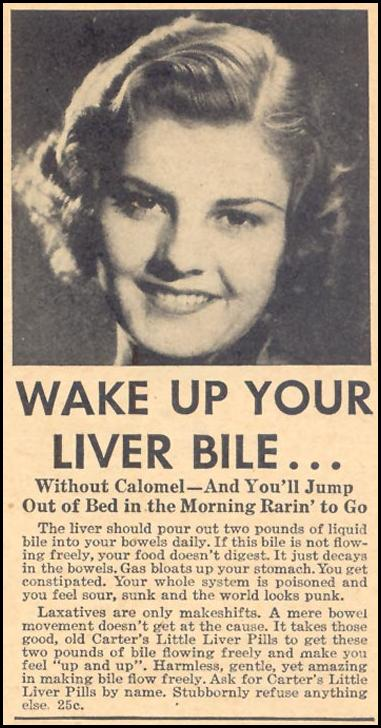 CARTER'S LITTLE LIVER PILLS LIBERTY 08/08/1936 p. 35