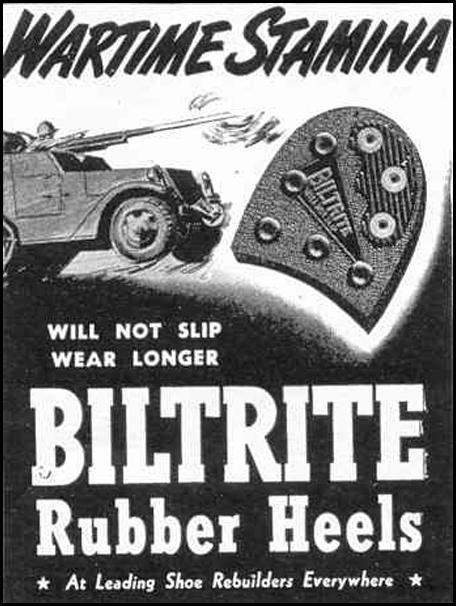 BILTRITE RUBBER HEELS LIFE 02/14/1944 p. 100