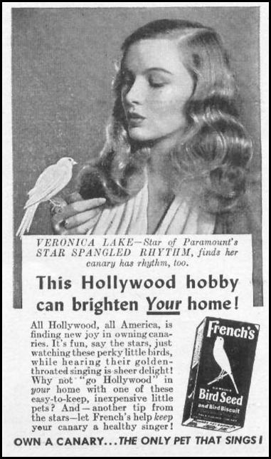 FRENCH'S BIRD SEED WOMAN'S DAY 05/01/1943 p. 58