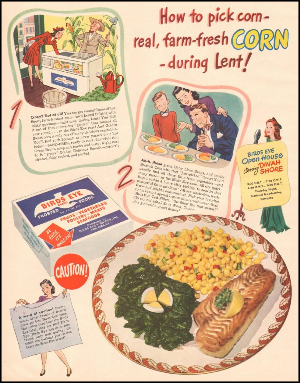 BIRDS EYE FROZEN FOODS LIFE 03/12/1945