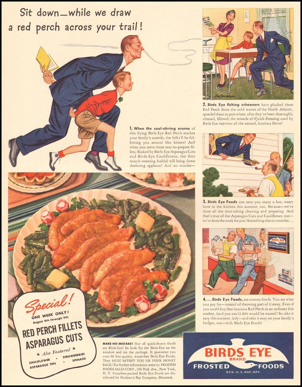 BIRDS EYE FROZEN FOODS LIFE 08/04/1941 p. 26