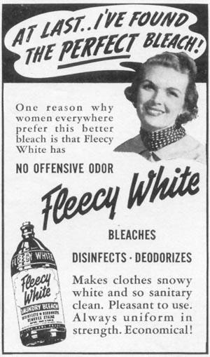 FLEECY WHITE LAUNDRY BLEACH