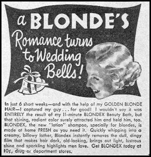 BLONDEX BEAUTY BATH PHOTOPLAY 08/01/1956 p. 103