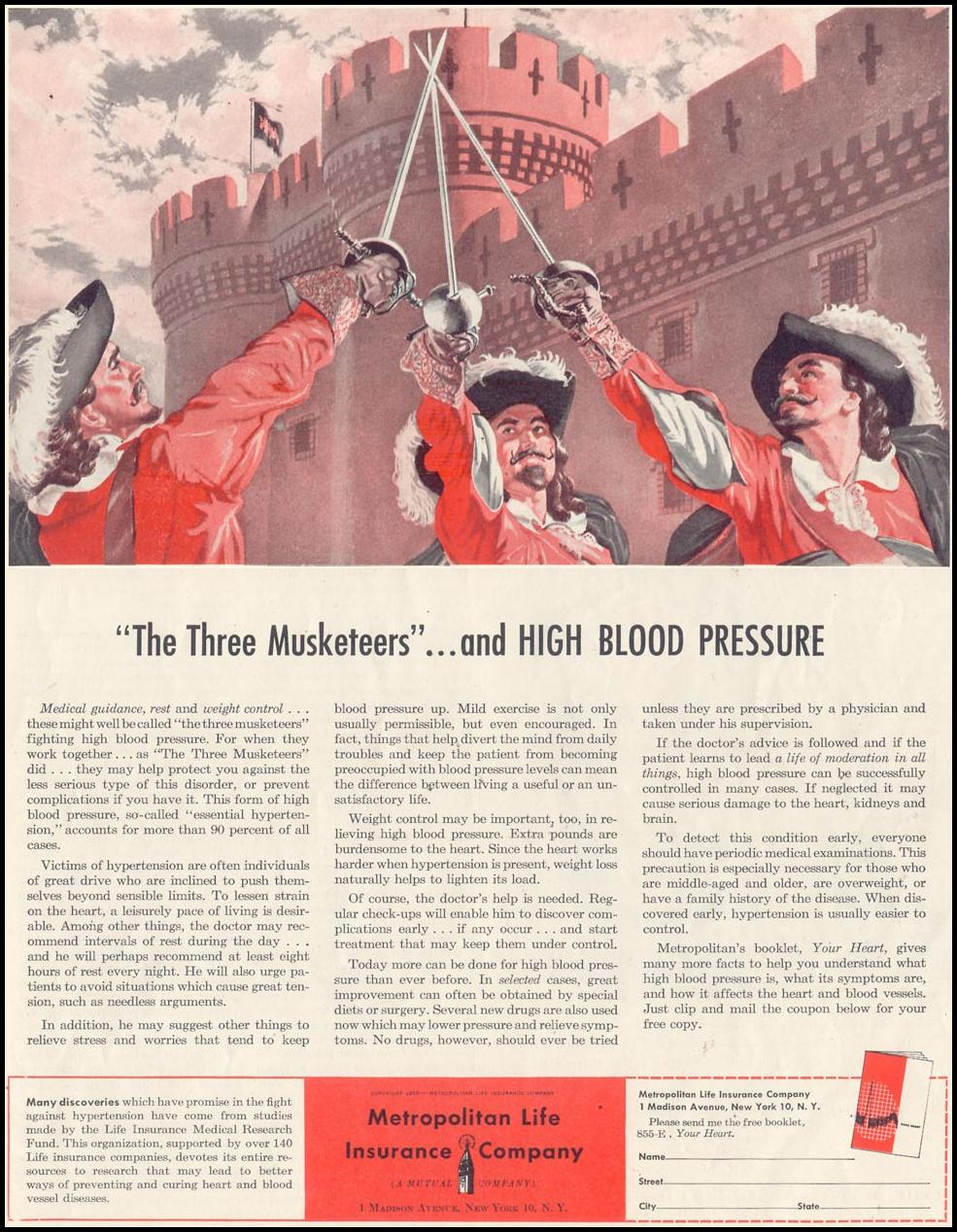 BLOOD PRESSURE CONTROL SATURDAY EVENING POST 07/23/1955 p. 11
