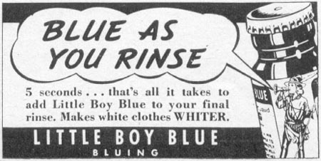 LITTLE BOY BLUE BLUING