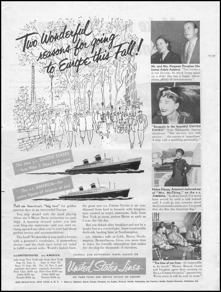 OCEAN LINER TRAVEL