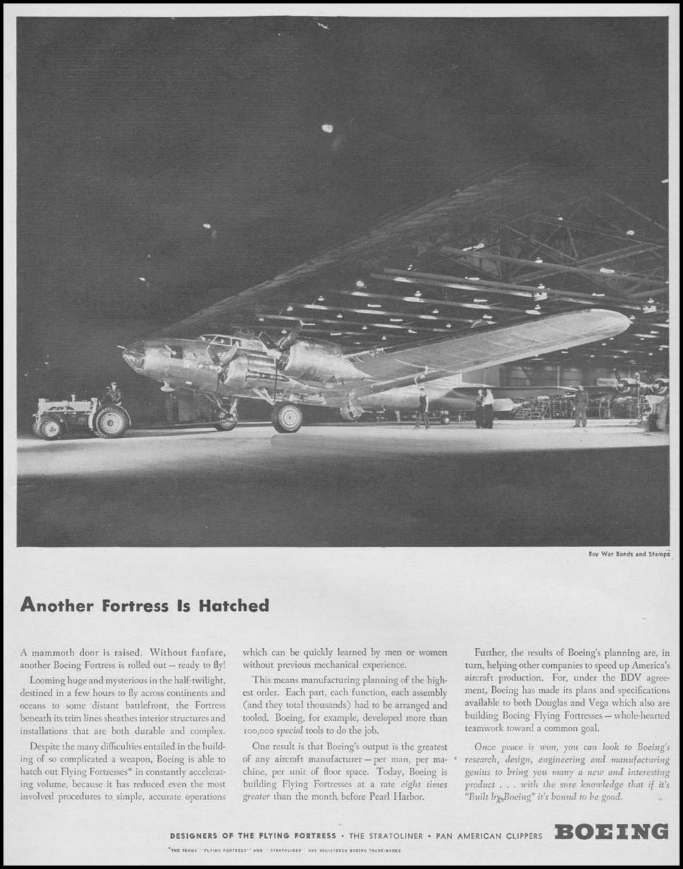 BOEING B-17 FLYING FORTRESS LIFE 08/09/1943 p. 47