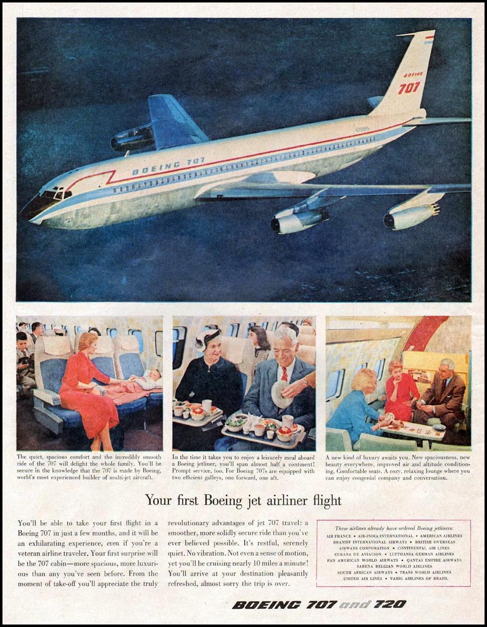 BOEING 707 LIFE 09/15/1959