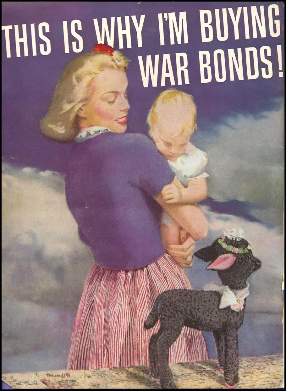 U. S. WAR BONDS WOMAN'S DAY 04/01/1943 INSIDE FRONT