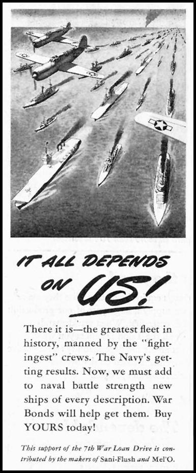 WAR BONDS SATURDAY EVENING POST 05/19/1945 p. 68