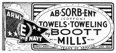 AB-SORB-ENT COTTON TOWELS SATURDAY EVENING POST 05/19/1945 p. 98
