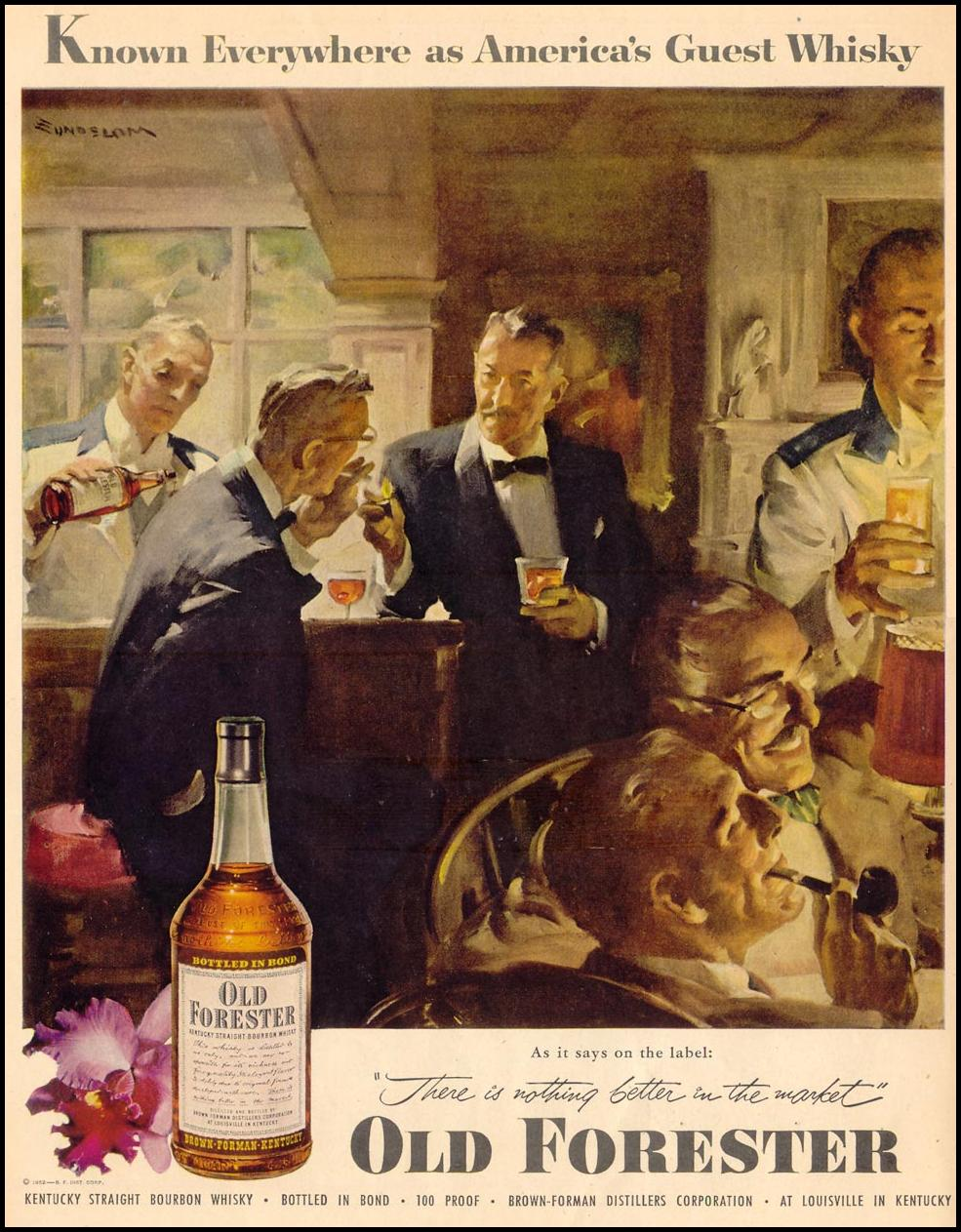 OLD FORESTER BOURBON LIFE 02/02/1953 p. 26