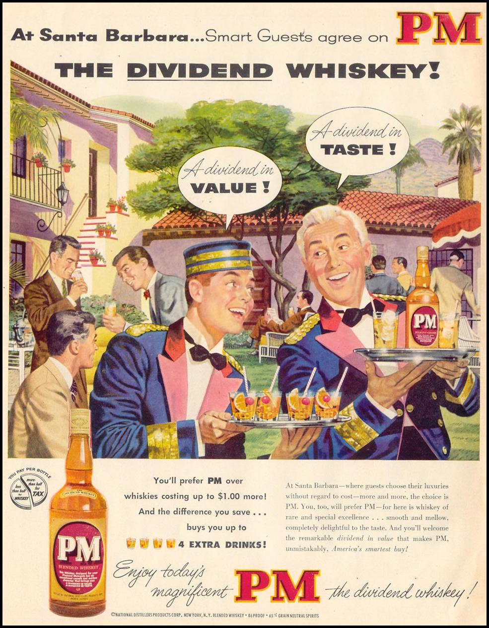 PM BLENDED WHISKEY LIFE 04/13/1953 p. 190