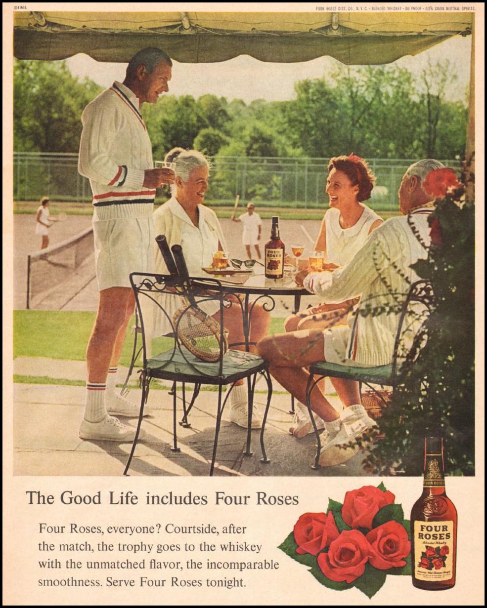 FOUR ROSES WHISKEY LIFE 05/05/1961