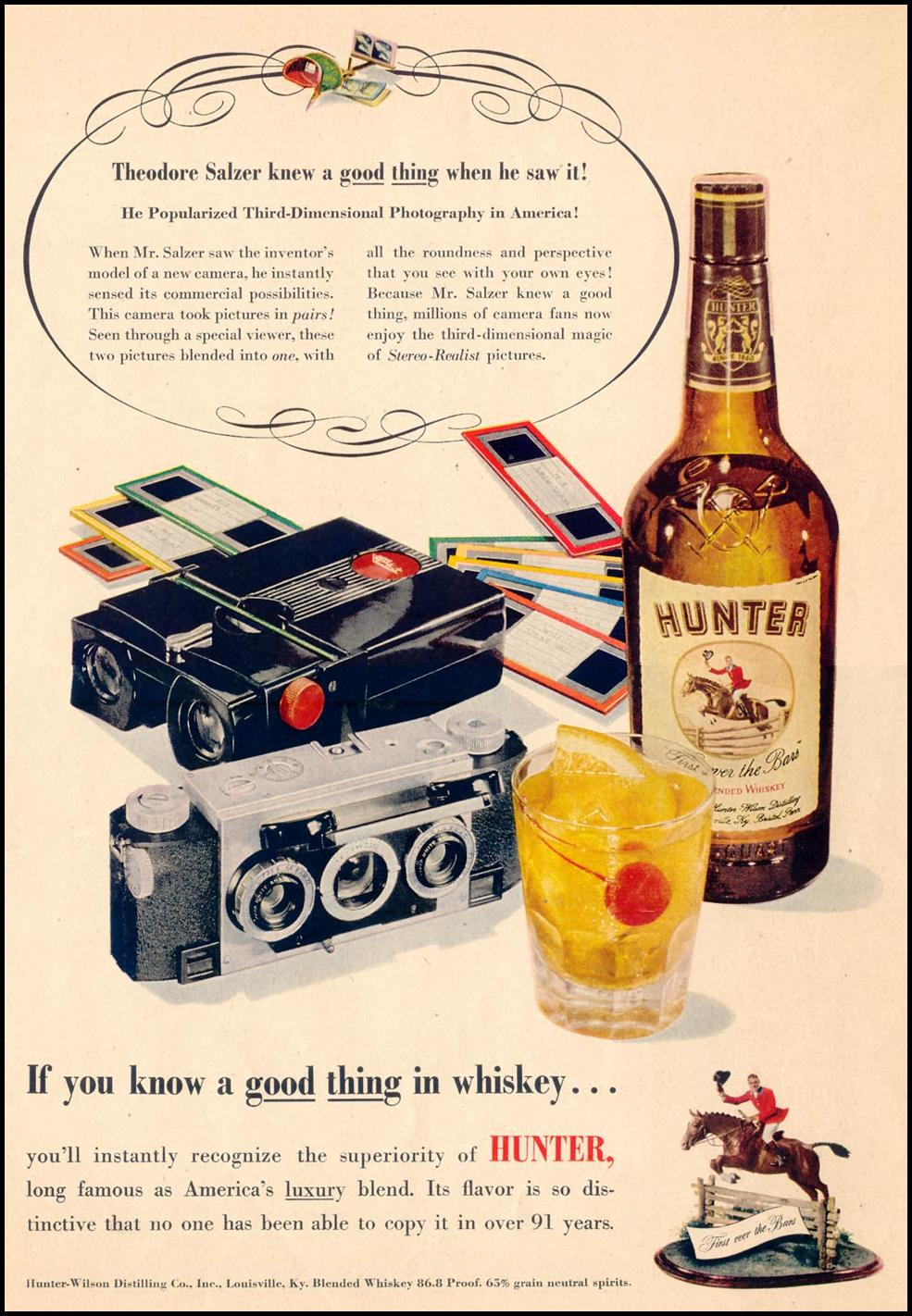 HUNTER WHISKEY LIFE 07/30/1951 p. 28