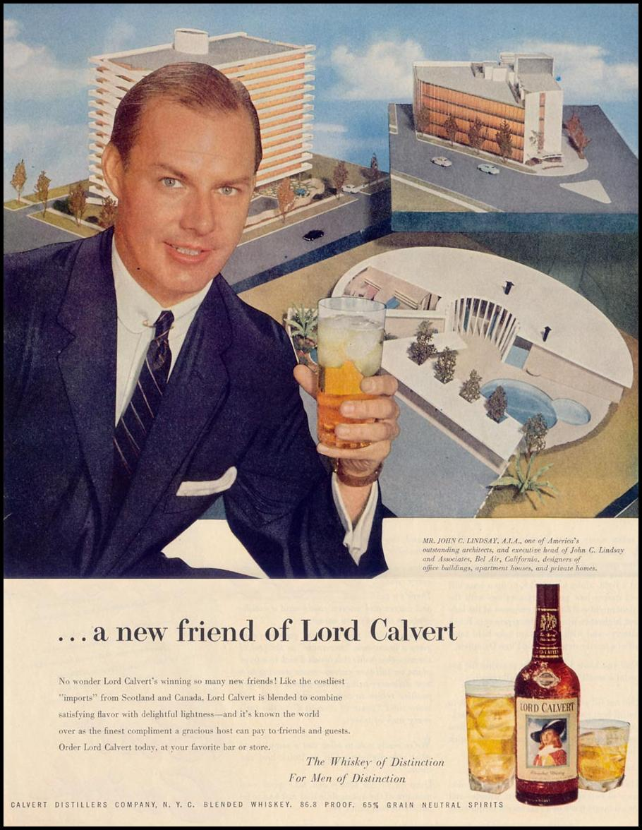 LORD CALVERT WHISKEY LIFE 11/14/1955 p. 117