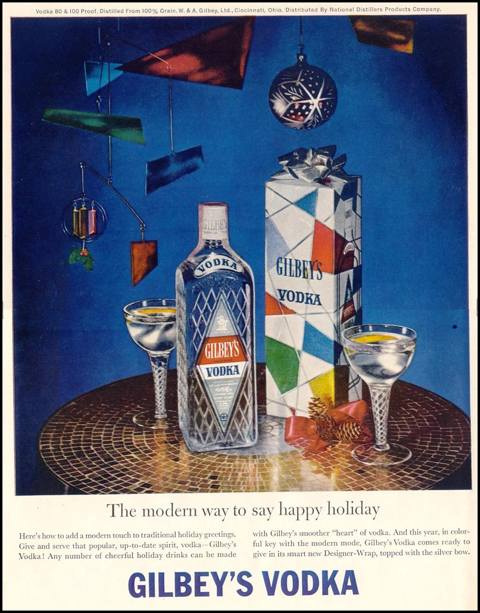 GILBEY'S VODKA LIFE 12/14/1959 p. 62