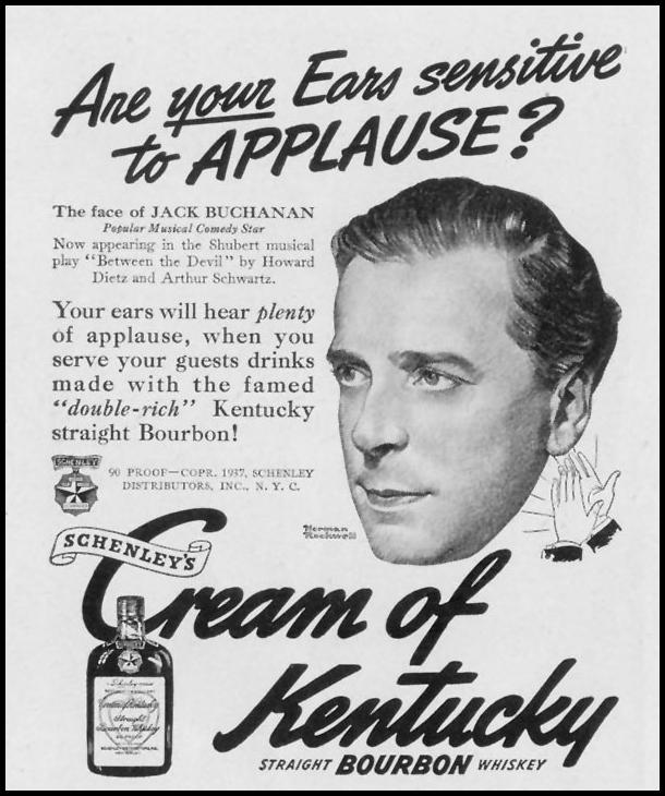 SCHENLEY'S CREAM OF KENTUCKY BOURBON LIFE 12/27/1937 p. 2